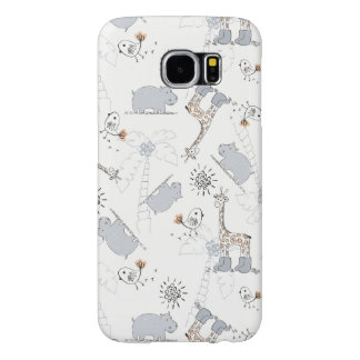 doodle pattern 2 samsung galaxy s6 cases
