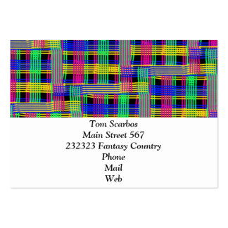 doodle Pattern Freedom Business Cards
