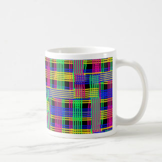 Doodle pattern FREEDOM Coffee Mugs