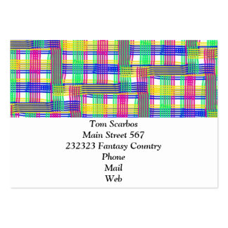 doodle Pattern Freedom white Business Cards