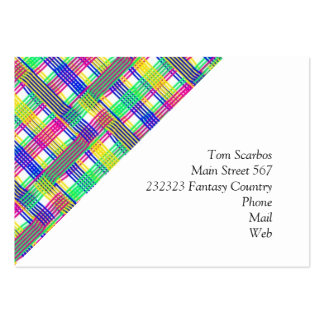 doodle Pattern Freedom white Business Card Template