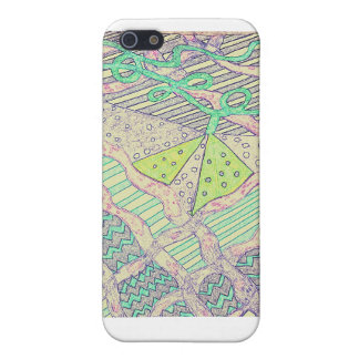 Doodle pattern iPhone 5 cover
