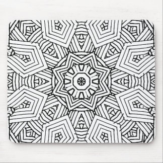 Doodle Pattern Mousepad