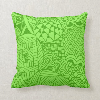 Doodle Pattern Pillow Cushion