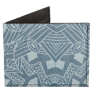 Doodle Pattern Trifold Wallet