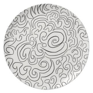 Doodle Plate