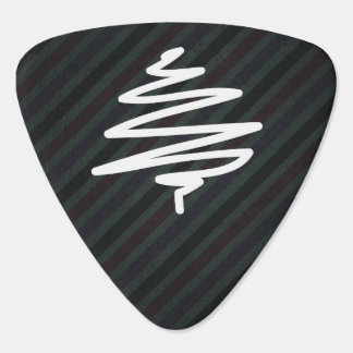 Doodle Scratches Icon Guitar Pick