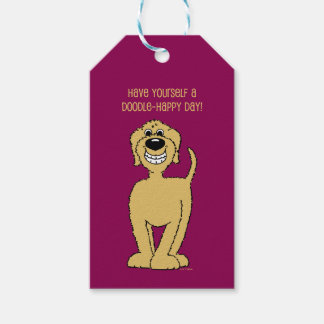 Doodle Smile blond Gift Tags