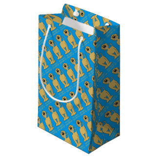 Doodle Smile blond Small Gift Bag