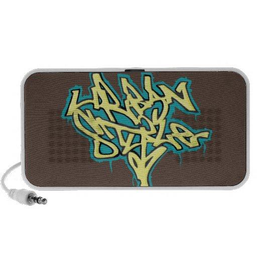 Doodle Speaker Urban Style Graffiti