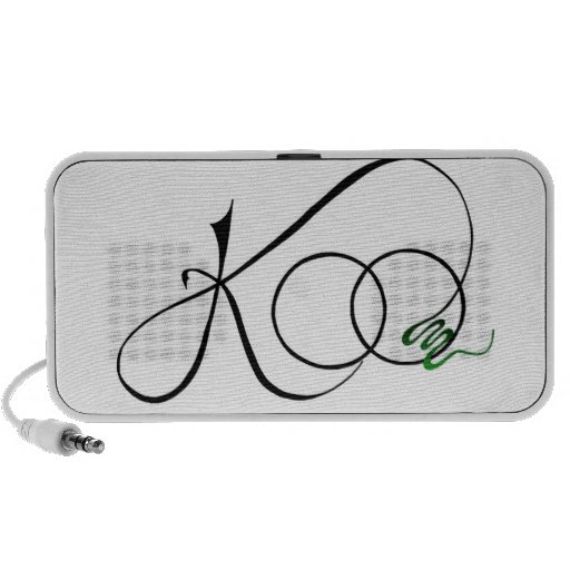 Doodle Speakers with Logo - Color