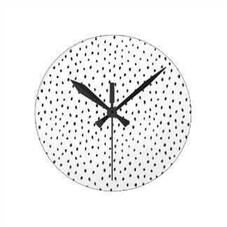 Doodle Spot Wall Clock