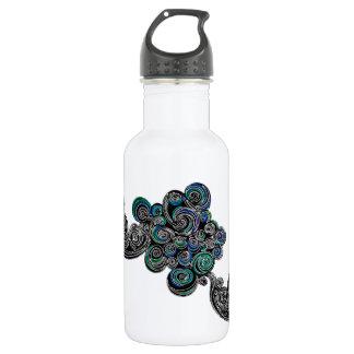Doodle Swirls 532 Ml Water Bottle
