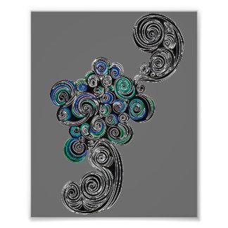 Doodle Swirls Photograph