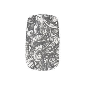 Doodle thingy 2.0 fingernail transfer