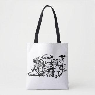 Doodle Tote Bag_Barbarian