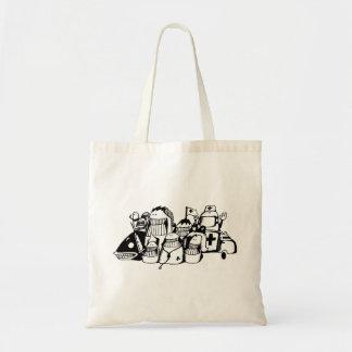 Doodle Tote Bag_Emergency