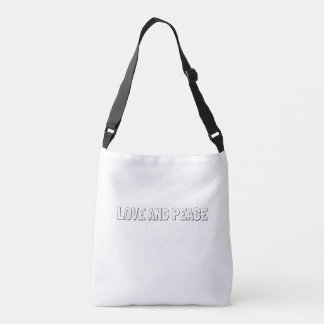 Doodle Tote Bag_LOVE AND PEACE