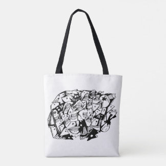 Doodle Tote Bag_Shape of You
