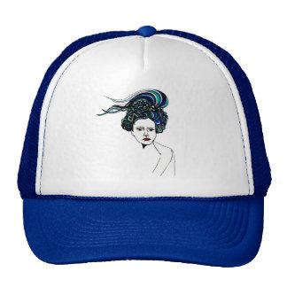 Doodle Woman Hats