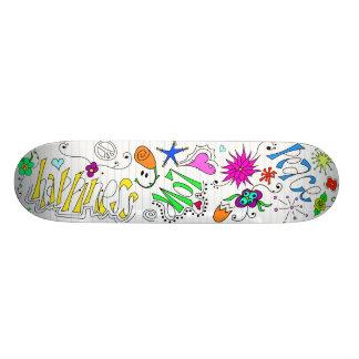 Doodleboard Skate Board