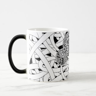DOODLED Mho fin magnetic cup Coffee Mugs