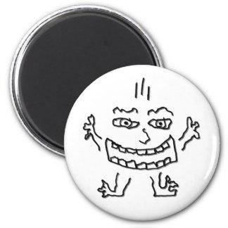 DoodleNut wild character 0002 Fridge Magnet