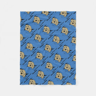Doodles are just like that! fleece blanket