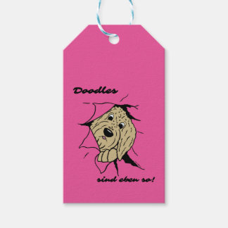 Doodles are just like that! gift tags