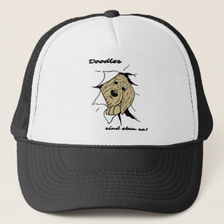 Doodles are just like that! trucker hat