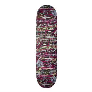 Doodles Custom Skate Board