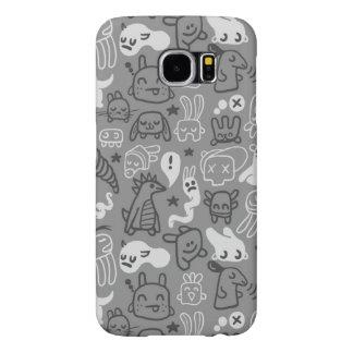 doodles pattern illustration samsung galaxy s6 cases