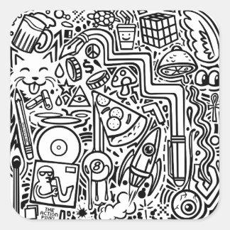 """Doodles"" stickers"