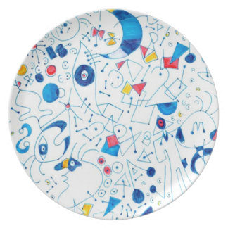 Doodlez Party Plates
