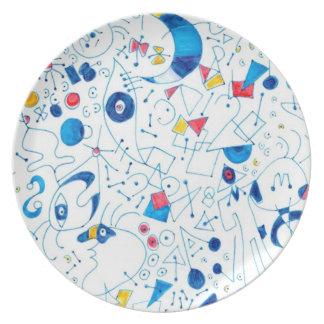 Doodlez Party Plates