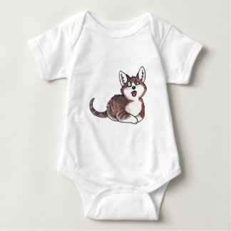 Doofy Cat Baby Bodysuit