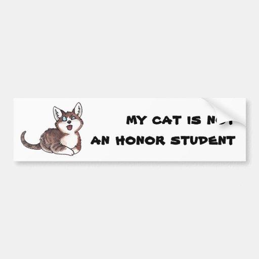 Doofy Cat Bumper Sticker