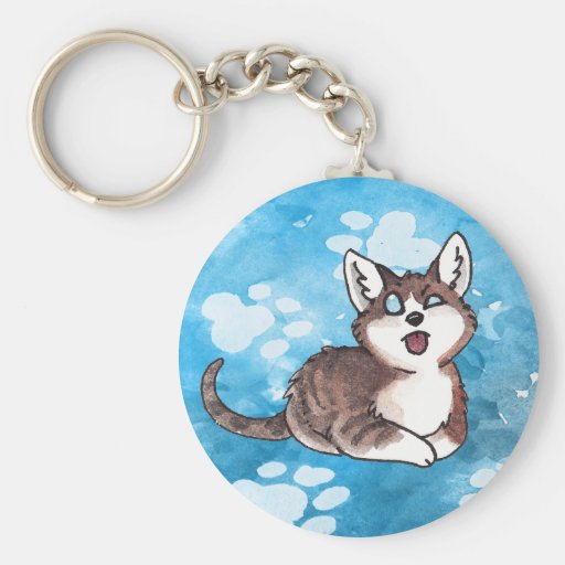Doofy Cat Keychain