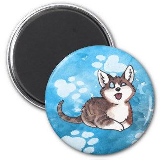 Doofy Cat Magnet