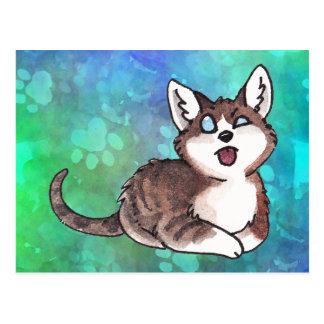 Doofy Cat Postcard