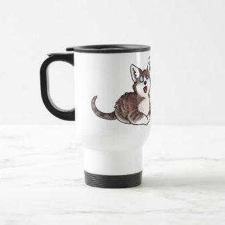 Doofy Cat Travel Mug