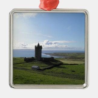 Doolin, Ireland Metal Ornament