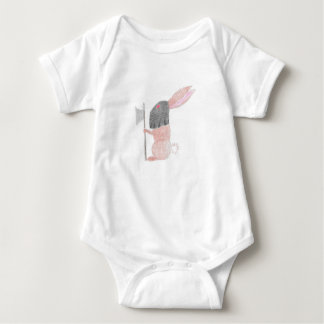 Doom Bunny Baby Bodysuit