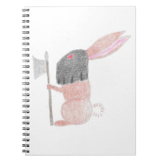 Doom Bunny Notebooks