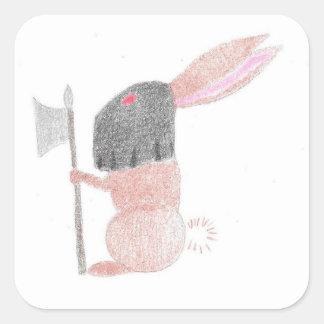 Doom Bunny Square Sticker