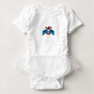 doom death image baby bodysuit