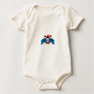 doom death image baby bodysuit
