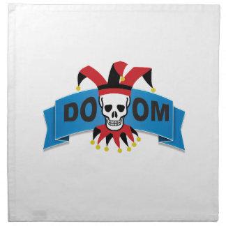 doom death image napkin
