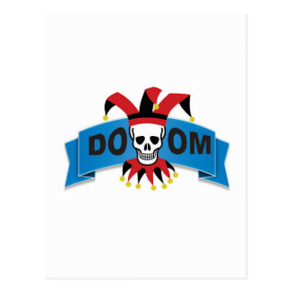 doom death image postcard