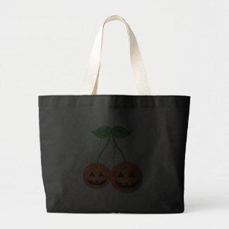 Doom Jack o Lantern Cherries Tote Bag